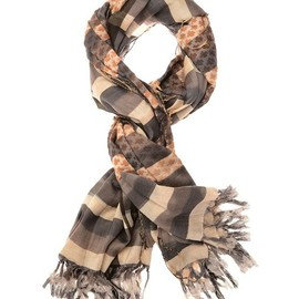 DRIES VAN NOTEN - 'Ferg' Woven Silk-Cotton Scarf