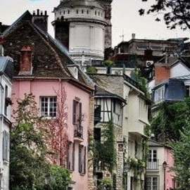 Montmartre - Montmartre, Paris - Spent a rainy afternoon in June 2013