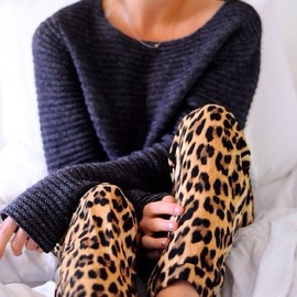 Cozy leopard / style
