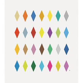 """horie kenichi - Poster """"Colors 1"""" (Life is art #002)"""