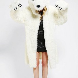 Polar Bear Coat Costume