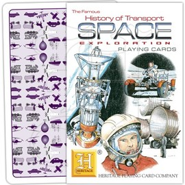 Heritage Playing Card Company - History of Transport - Space Exploration