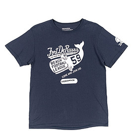 nanamica - Loopwheel COOLMAX Graphic Tee-Navy
