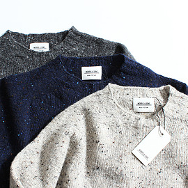 MORRIS & SONS - donegal crew neck sweater