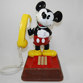 Vintage Mickey Mouse Touchtone Telephone