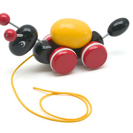 Working Ant Pull Toy