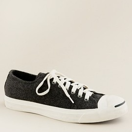 CONVERSE - wool flannel Jack Purcell® sneakers