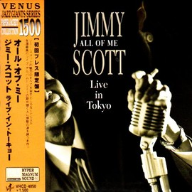 Jimmy Scott - All of me, Live in Tokyo