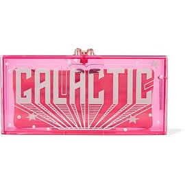Charlotte Olympia - Galactic Penelope embellished Perspex clutch