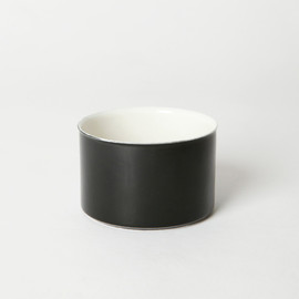 BRANKSOME CHINA - TEA SUGUR BOWL BLACK