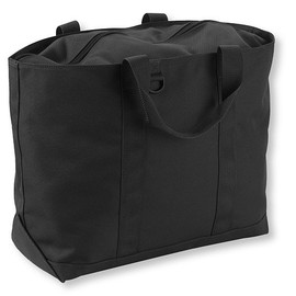 L.L.Bean - Hunter's Tote Bag, Zip-Top black