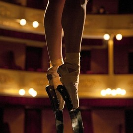 k - (via Incredible Ballerina Performs En Pointe with Knife Shoes » Design You Trust)