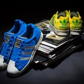 adidas originals - RUN D.M.C. × ADIDAS ORIGINALS ULTRASTAR 80'S 2COLORS