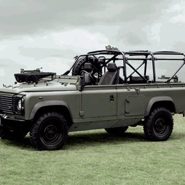 Land Rover - Defender Core Military and Defence Vehicles