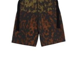 DRIES VAN NOTEN - Camouflage Bermuda
