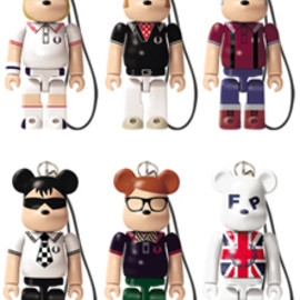 MEDICOM TOY - Lipton FRED PERRY 70% BE@RBRICK