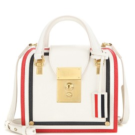 Thom Browne - Mrs Thom Mini leather tote