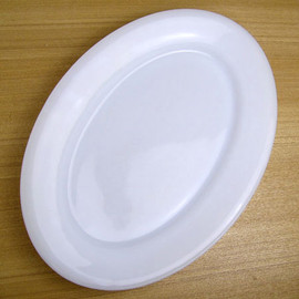 Fire King - White RW 11 1/2 Oval Platter