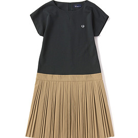 FRED PERRY - Block Pleated Dress