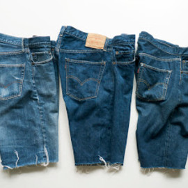 Levi's - Cut Off Denim (Vintage)