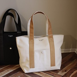 UNIVERSAL PRODUCTS - TOTE BAG LEATHER HANDLE