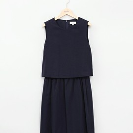 Steven Alan - grosgrain gathered one piece