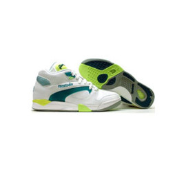 Reebok - court victory white / green / citron