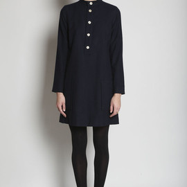 A.P.C.  - - French Dress - Navy Blue