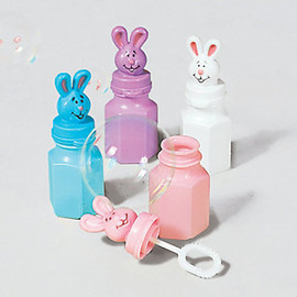 Easter Bunny soap bubble