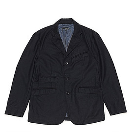 ENGINEERED GARMENTS - Andover Jacket-Worsted Heavy Wool-Dk.Navy