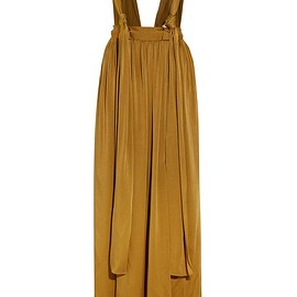 Lanvin - Washed-satin maxi skirt