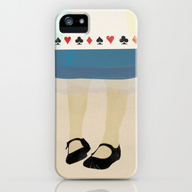 society6 - Alice In Wonderland iPhone Case