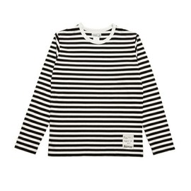agnès b. pour Adam et Ropé Biotop - Striped long sleeve T-shirt (HOMME)