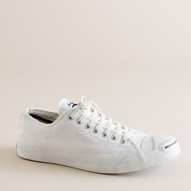 Converse - distressed Jack Purcell® sneakers (white)