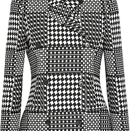 Alexander McQueen - Prince of Wales check jacquard double-breasted blazer