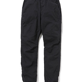 nonnative - ADVENTURER EASY RIB PANTS TAPERED FIT C/P TWILL STRETCH OVERDYED for Pilgrim Surf + Supply