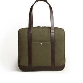 Trunk - Trunk Zipped Tote Bag: Green | Trunk Clothiers