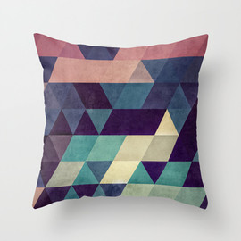 spires - cryyp Throw Pillow