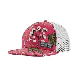 patagonia - Duckbill Trucker Hat, Cotton Ball Gators: Ultra Pink (CBGU)