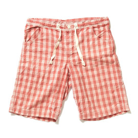 Porter Classic - Checkered Pattern Short Pants