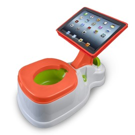 CTA Digital - 2-in-1 iPotty with Activity Seat for iPad