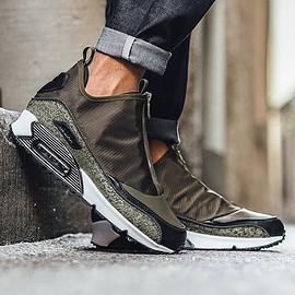 NIKE - Air Max 90 Utility - Dark Loden/Dark Loden/Black/Medium Olive