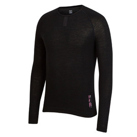 Rapha - Merino Base Layer - Long Sleeve ( Black )