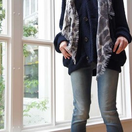 Edwina Horl - FLEECE BIG CARDIGAN