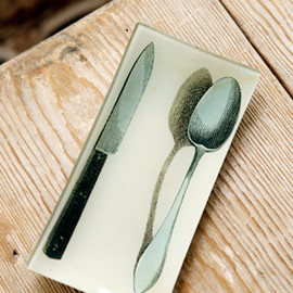 John Derian - Plate Flatware: Spoon & Knife