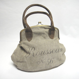 vagabond vintage furnishings - Vintage Fatigued Canvas bag