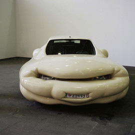 erwin wurm - fat car