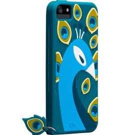 Case-Mate - Case-Mate 日本正規品 iPhone5S / 5 CREATURES: Peacock Case, Teal クリーチャーズ: ピーコック シリコン ケース, ティール