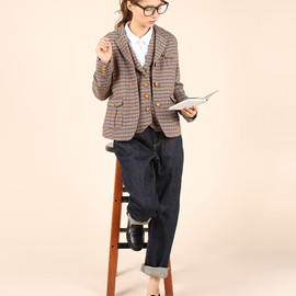 PAR ICI - tweed jacket