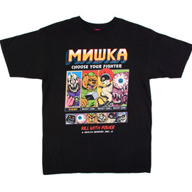 MISHKA - CHOOSE YOUR FIGHTER TEE